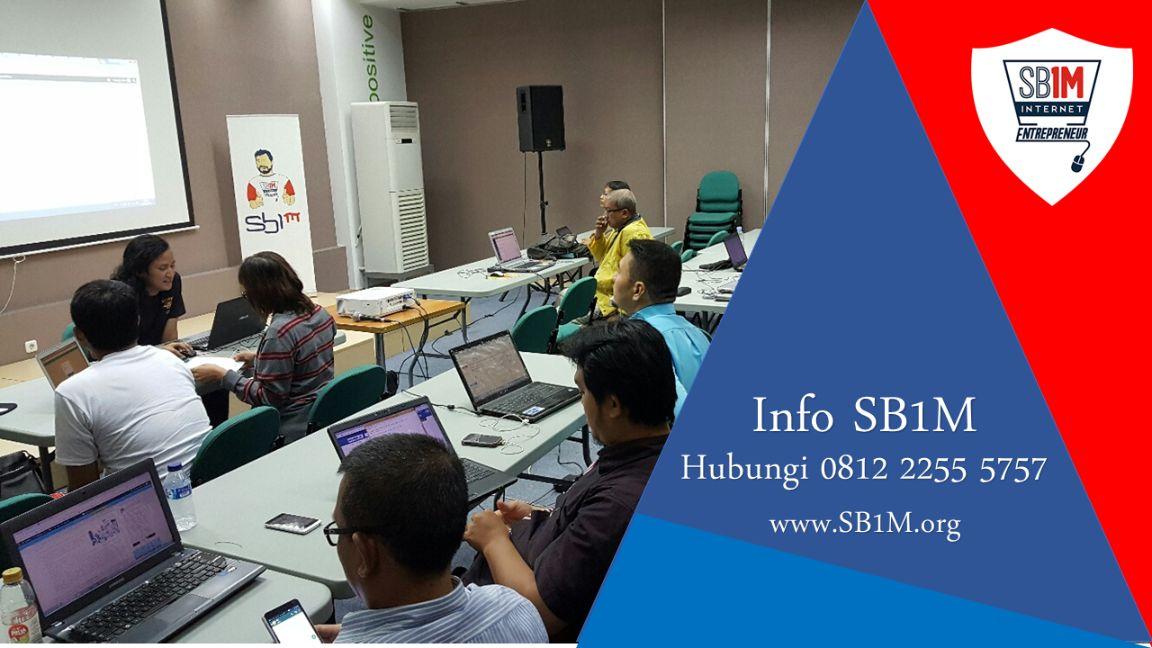 Mentor Sekolah Bisnis Online SB1M, Pencetak Pebisnis Berkualitas